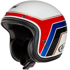 CASCO ARAI URBAN-V BLITZ WHITE