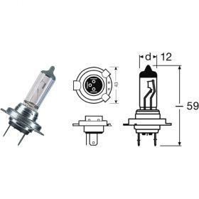 LAMPADINA BCR 12V / 55W H7 ALOGENA