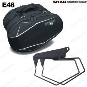KIT SHAD TELAI + VALIGIE SEMIRIGIDE E-48