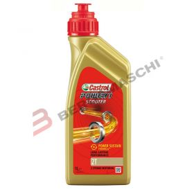 OLIO CASTROL POWER 1 SCOOTER 2T 1L