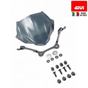 GIVI A5125 CUPOLINO FUMÉ 28X36,5 COMPLETO