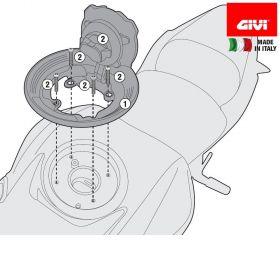 GIVI BF28 FLANGIA SPECIFICA BORSE TANKLOCK