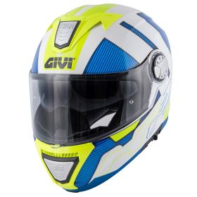 CASCO GIVI X.23 SYDNEY PROTECT BIANCO / BLU / GIALLO
