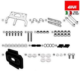 GIVI TL3112KIT ANCORAGGIO X TOOL BOX S250