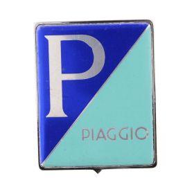 EMBLEMA PIAGGIO ORIGINALE QUADRATO PLASTIC