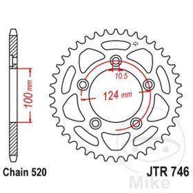 JT JTR746.43 CORONA 43 DENTI PASSO 520
