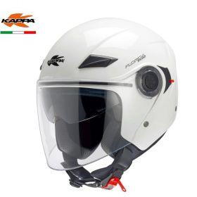 KAPPA CASCO JET KV22 FLORIDA BIANCO MOTO