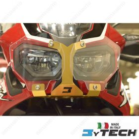 HEADLIGHT PROTECTION ALUMINIUM GOLD MYTECH