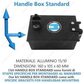HANDLE BOX STANDARD BLACK HANDLEBAR W/KEY