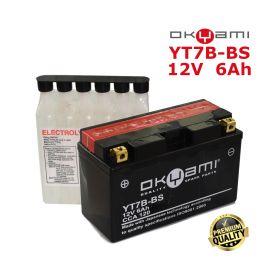 BATTERIA OKYAMI YT7B-BS +CONF. ACIDO