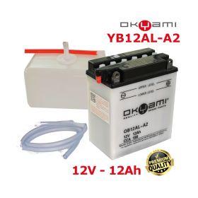 BATTERIA OKYAMI YB12AL-A2 +CONF. ACIDO