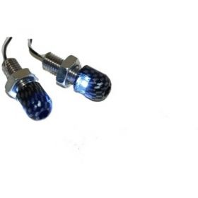 2 BULLONI CARBON LOOK APOLLO TARGA LED