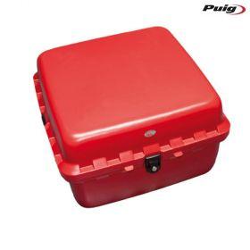 PUIG 0713R BAULETTO BIG BOX LOCK 90L ROSSO