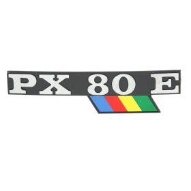TARGHETTA -PX80E- COFANO RIF. 198180